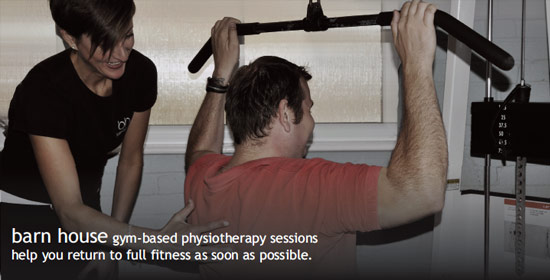 gym based physio sessions